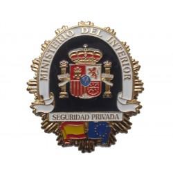 PLACA SEGURIDAD PRIVADA ESPAÑA