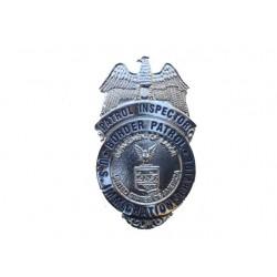 PLACA INSPECTOR POLICIA SERVICIO INMIGRACIÓN ESTADOS UNIDOS