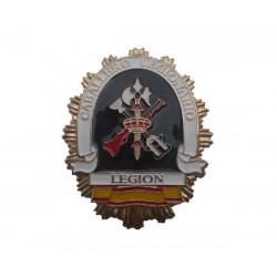 Placa insignia nueva Legión