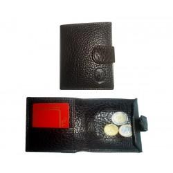 Monedero de piel clásico 307 karabu