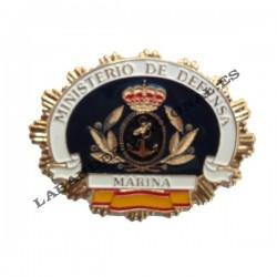 Placa nueva de la Marina