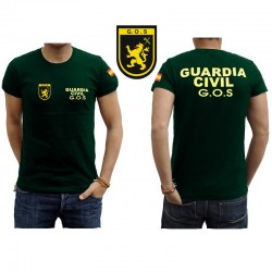 Camiseta Guardia Civil GOS