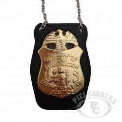 holder badge FBI (included badge)