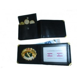 CARTERA PORTAPLACA MONEDERO EXTERIOR GUARDIA CIVIL