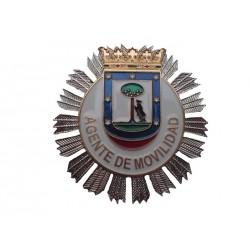 PLACA AGENTE MOVILIDAD DE MADRID