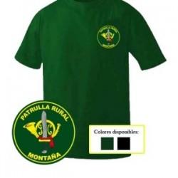 Camiseta Guardia Civil Patrulla Rural Montaña