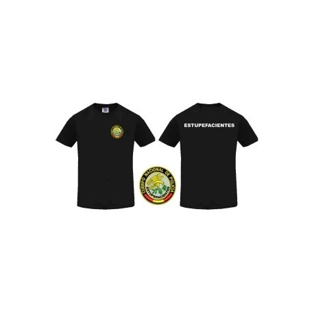 Camiseta Policía Estupefaciente