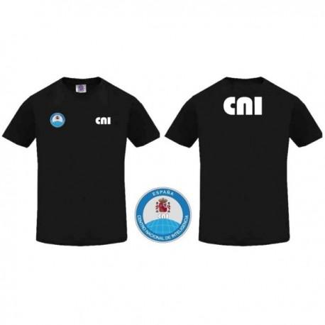 Camiseta CNI Negra