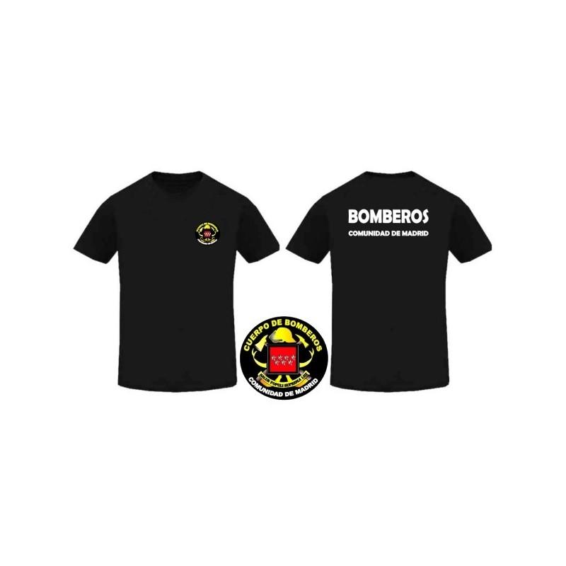 587933ee73e48 CAMISETA BOMBEROS COMUNIDAD DE MADRID - labanderanacional.es