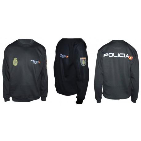 SUDADERAS PARA EL CUERPO DE LA POLICIA NACIONAL