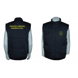 CHALECO GUARDIA CIVIL POLICIA JUDICIAL