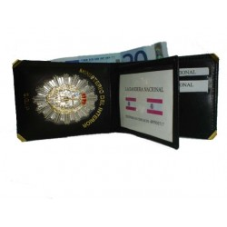 CARTERA PORTAPLACA MODELO EUROPEO PRISIONES (PLACA INCLUIDA)