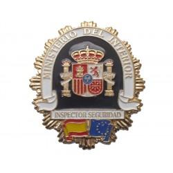 PLACA INSPECTOR DE SEGURIDAD