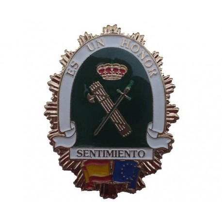 Placa amigo de la guardia civil