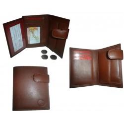 Caretera de piel billetera 636 sedalina