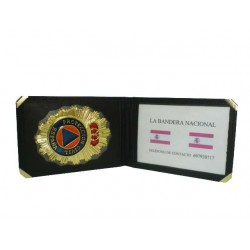 CARTERA  PROTECCION CIVIL (PLACA INCLUIDA)