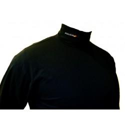 Camiseta cisne Policia y bandera bordada