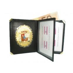 CARTERA LIBRO SEGURIDAD PRIVADA (PLACA INCLUIDA)