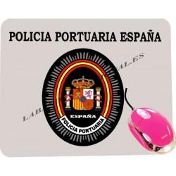 Alfombrilla de ordenador policia portuaria españa