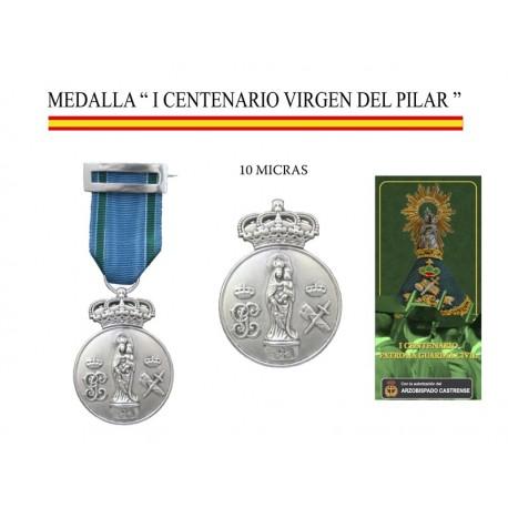 """MEDALLA """"I CENTENARIO VIRGEN DEL PILAR"""""""