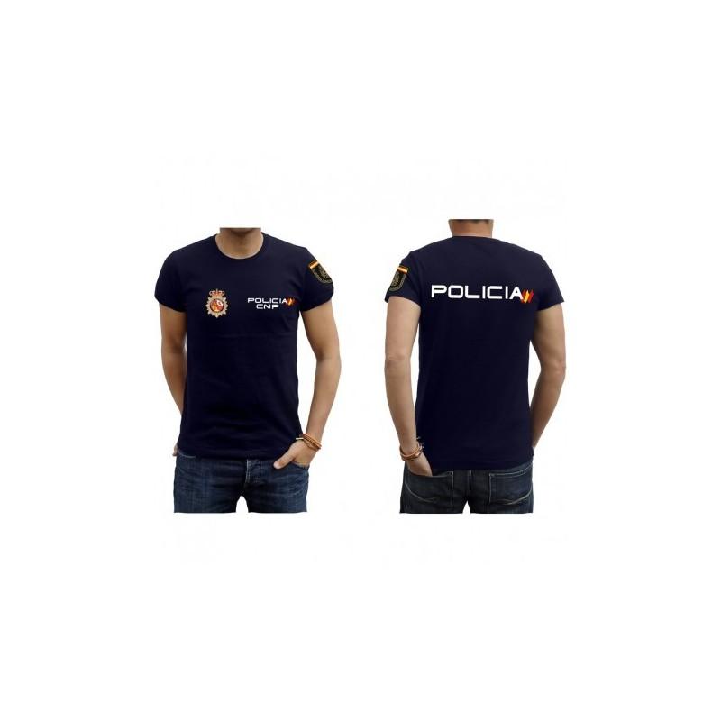 Camiseta cuerpo policia nacional for Ministerio policia nacional