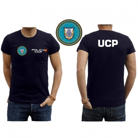CAMISETA CUERPO NACIONAL POLICIA UCP