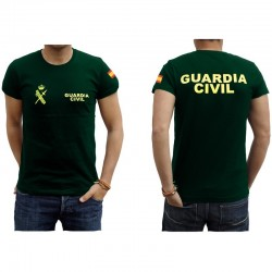 camiseta nuevo uniforme guardia civil