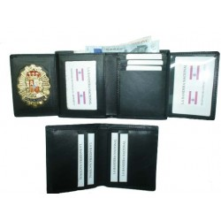 CARTERAS PORTAPLACA POLICIA LOCAL  REF.802 (PLACA INCLUIDA)