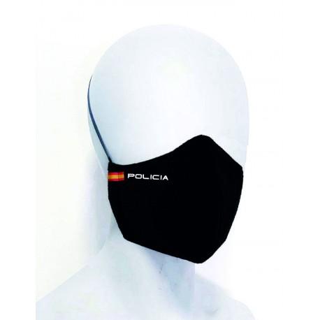 Mascarilla lavable - Negro